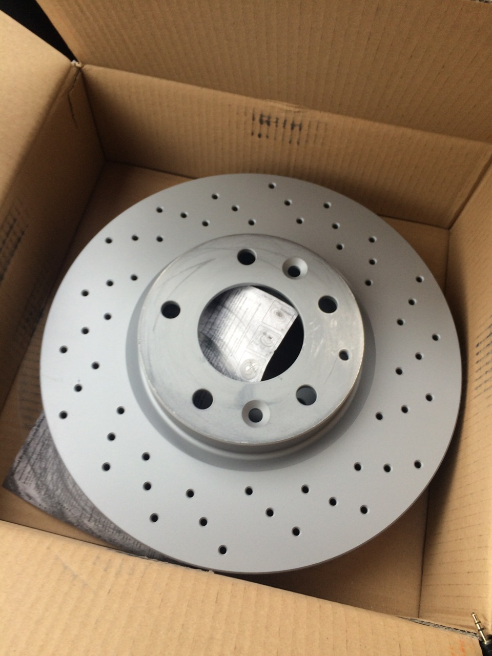 otto zimmermann тормозные диски для mazda6
