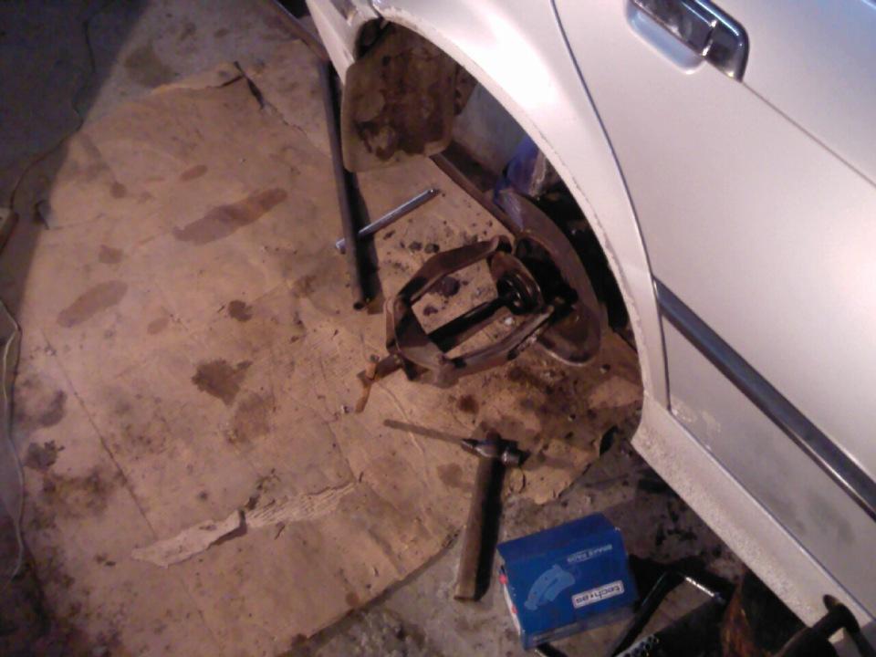 BMW e38 подшипник задней ступицы