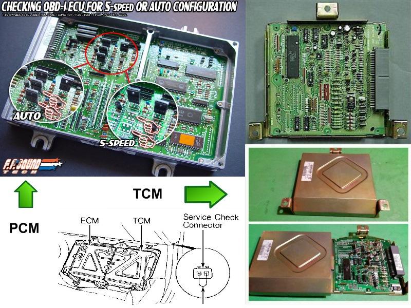 powertrain control module honda civic где находится