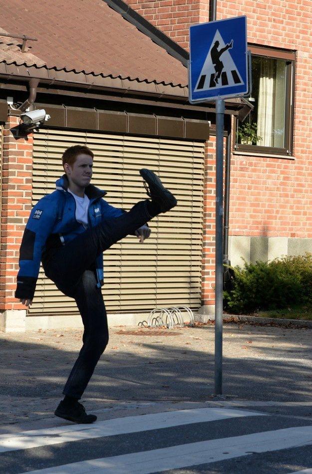 смешные фото про пешехода цвет это отличный