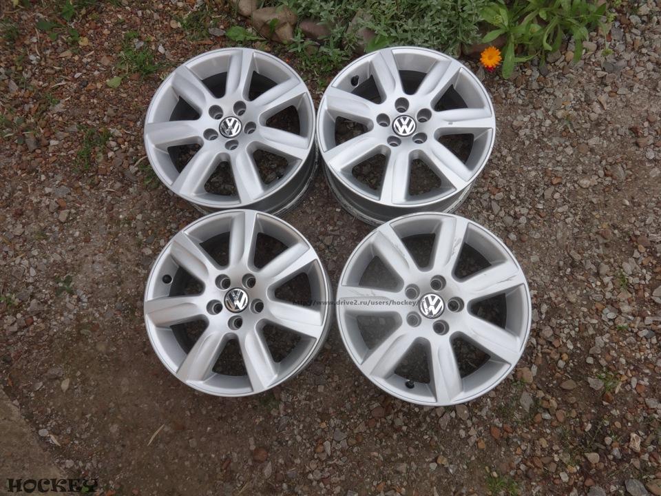 volkswagen поло седан литые диски