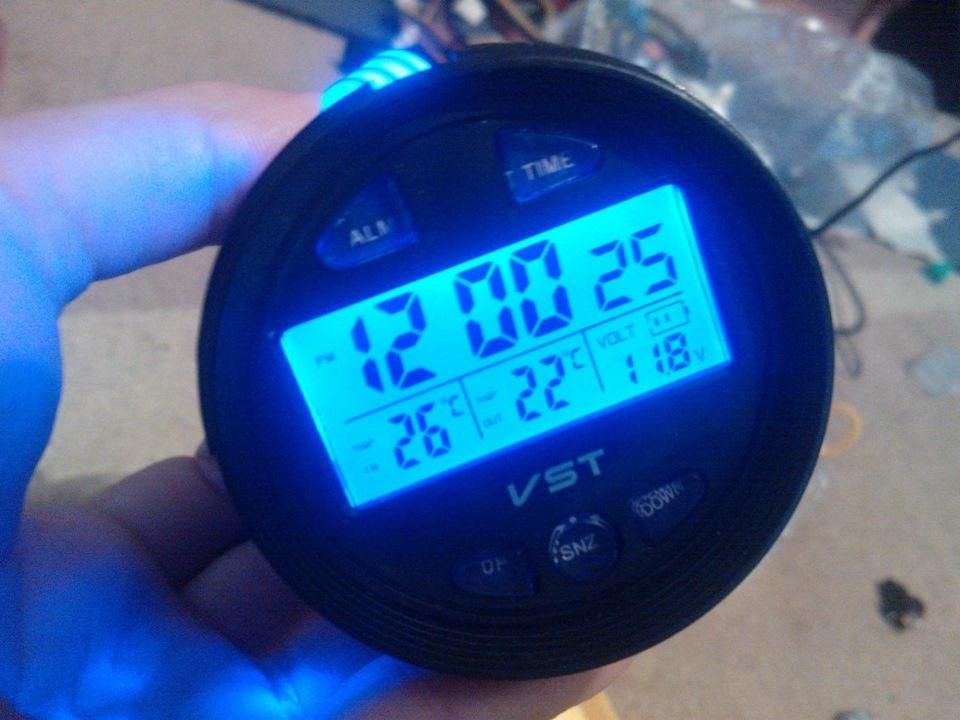 инструкция к автомобильным часам vst 7042v