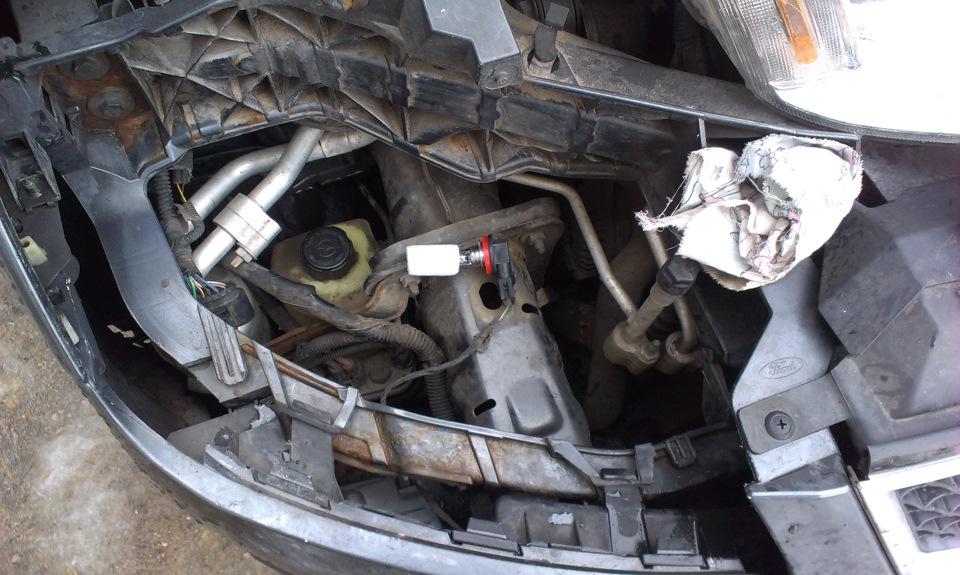 замена лампы птф ford s-max