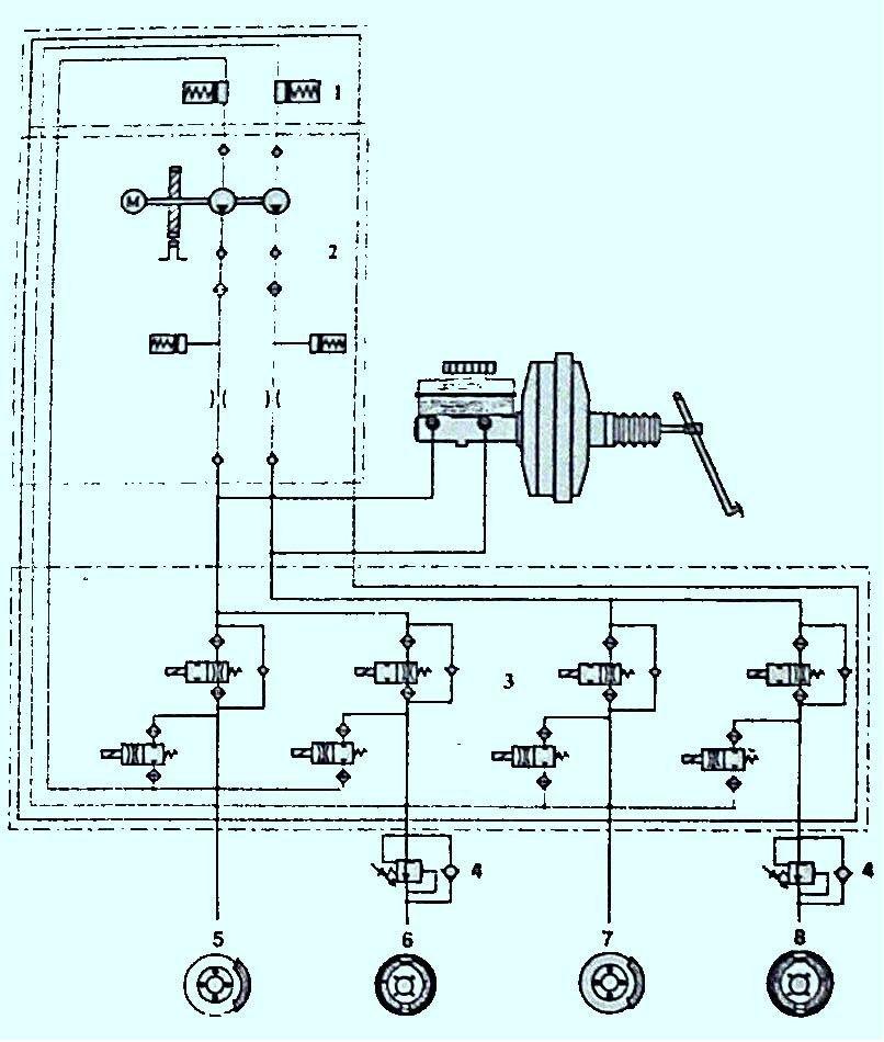 Рис. 4 Гидравлическая схема