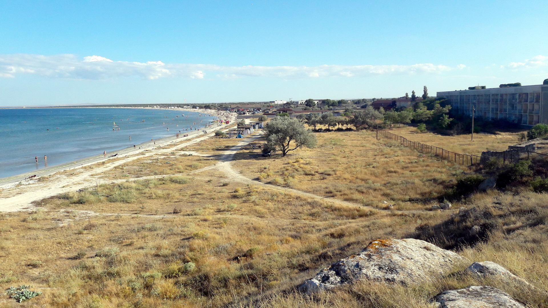 летний татарская бухта крым фото линией