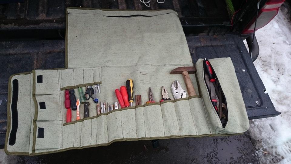 Сумка для инструментов своими руками в машину