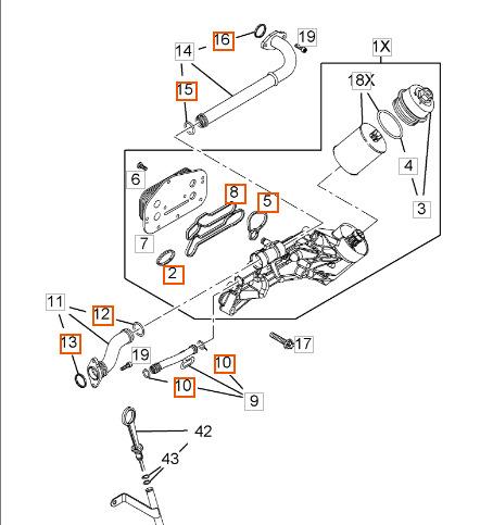 Замена прокладок теплообменника на z18xer Кожухотрубный испаритель Alfa Laval DM2-416-2 Сургут