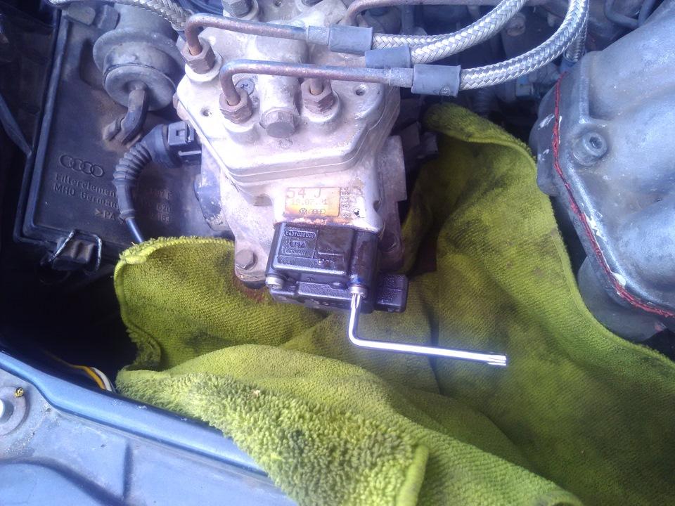 Промывка инжектора ауди 80