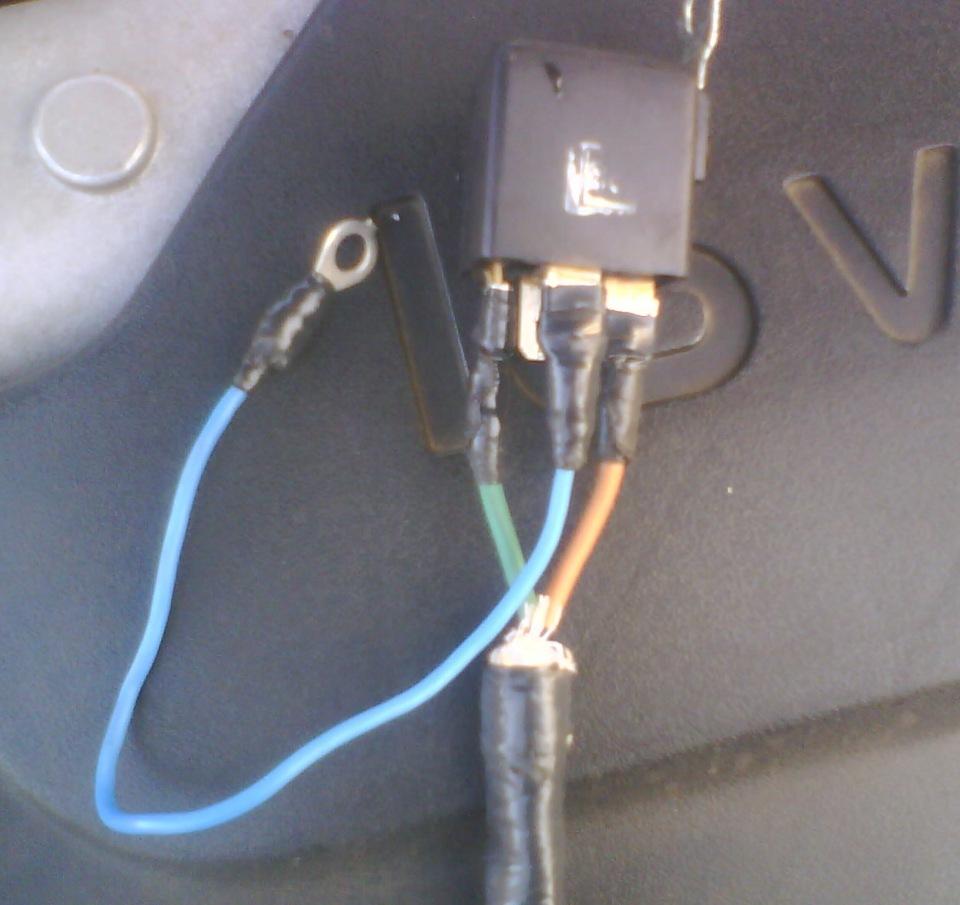 схема подключения электростартера на вихрь 30