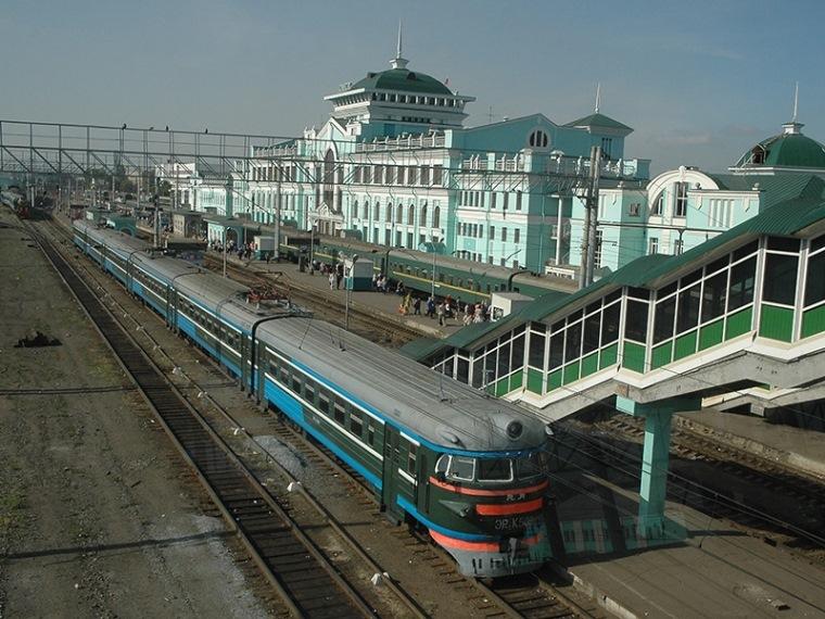 Омск исилькуль электропоезд картинка