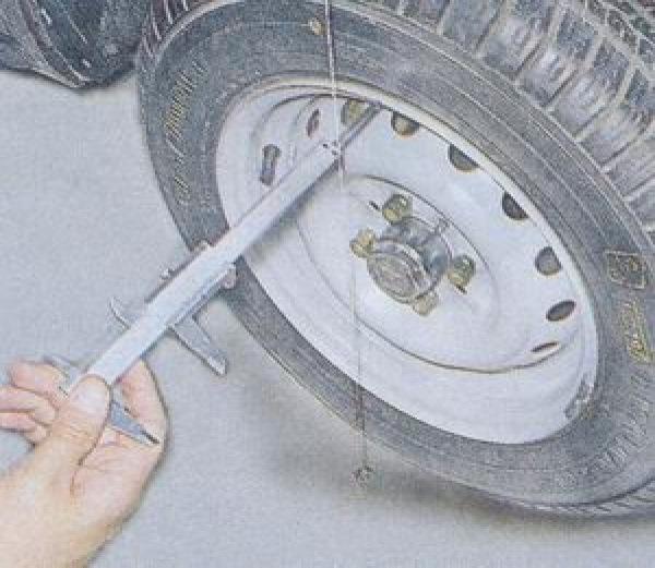 Регулировка колес ваз 2110 своими руками