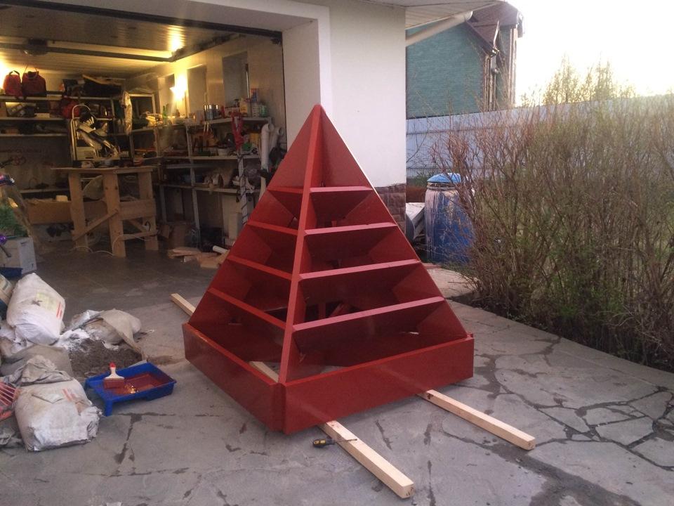 Пирамиды для клубники своими руками фото 42