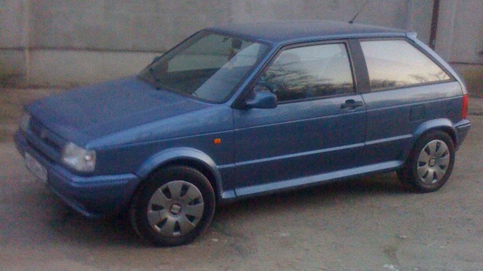 SEAT Ibiza Синий Ибизик