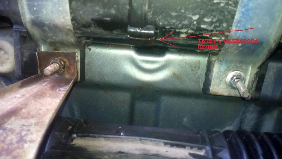 Что делать если потек радиатор на приоре