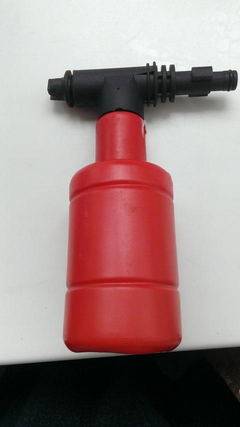 Инструкция по применению пенной насадки Karcher 70
