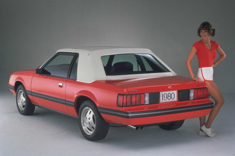 ford mustang 3 поколения