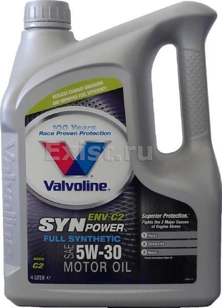 The range - valvoline synpower