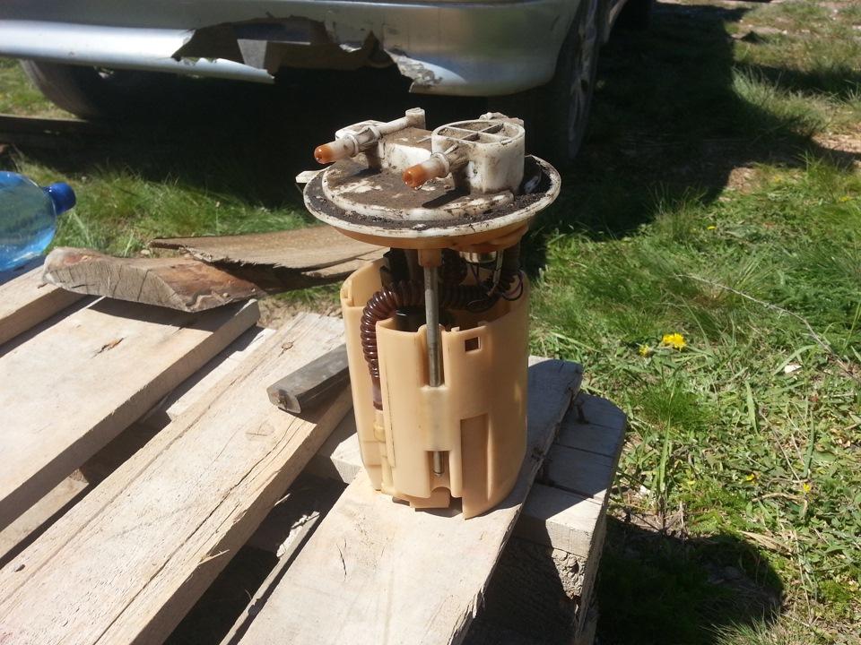 замена топливного фильтра ваз 2114