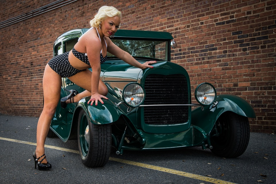 Video Sexy Girl Takes A Wild Ride In A Chopped Rat Rod