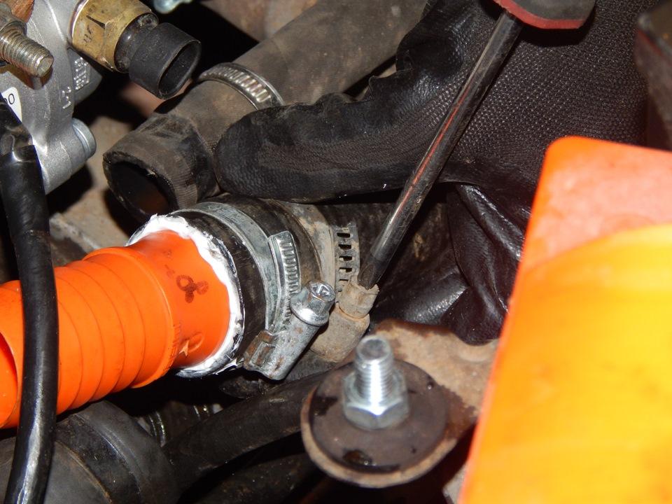 Фото №4 - установка термостата от гранты на ВАЗ 2110