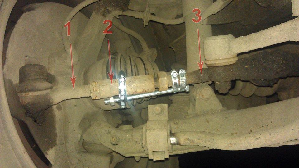 mitsubishi montero iii наконечник рулевой тяги
