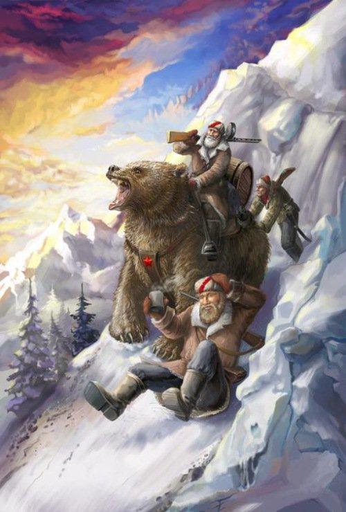 Медведи боевые картинки