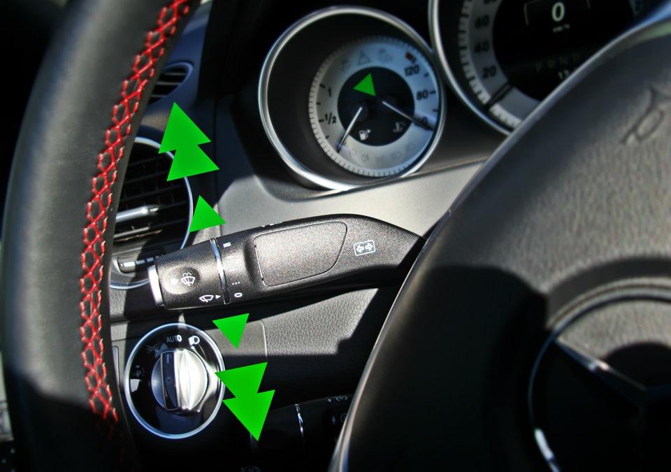 не работает замок водительской двери мерседес c200 w204
