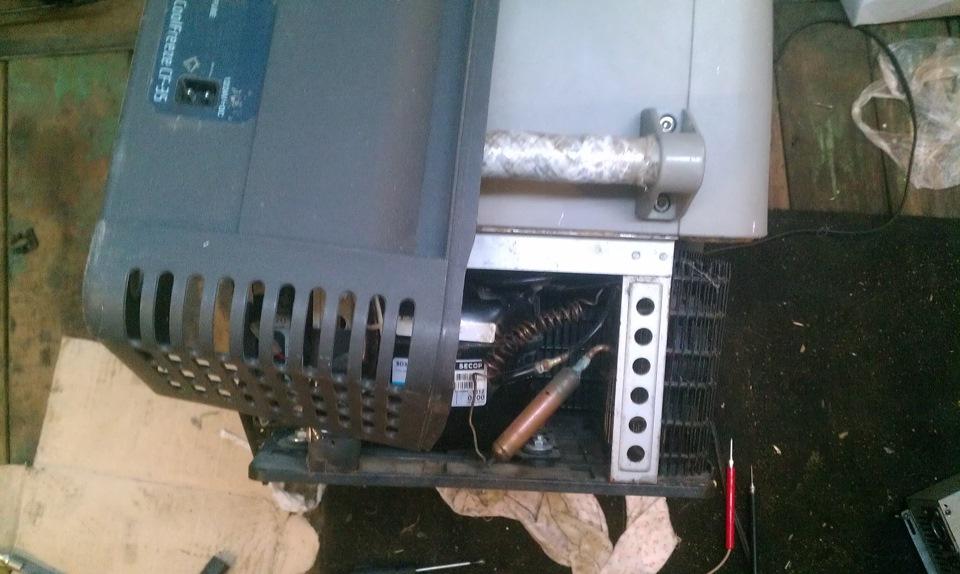 Автохолодильник термоэлектрический waeco (ваеко) tropicool tc-21fl (21л) 12/24/220в, с нагревом