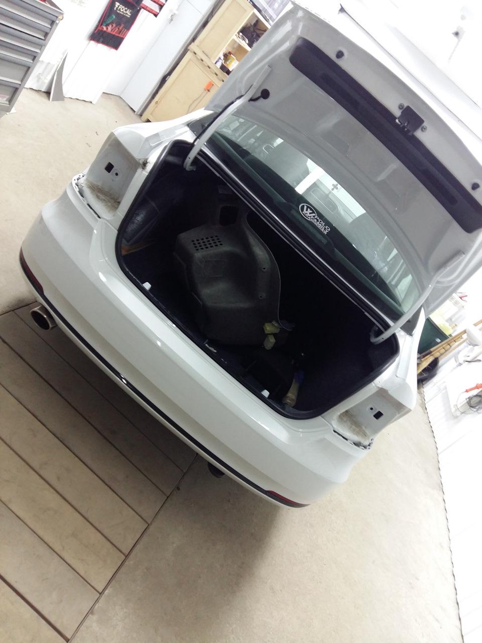 Установка парктроника на VW Polo Sedan бортжурнал. - drive2