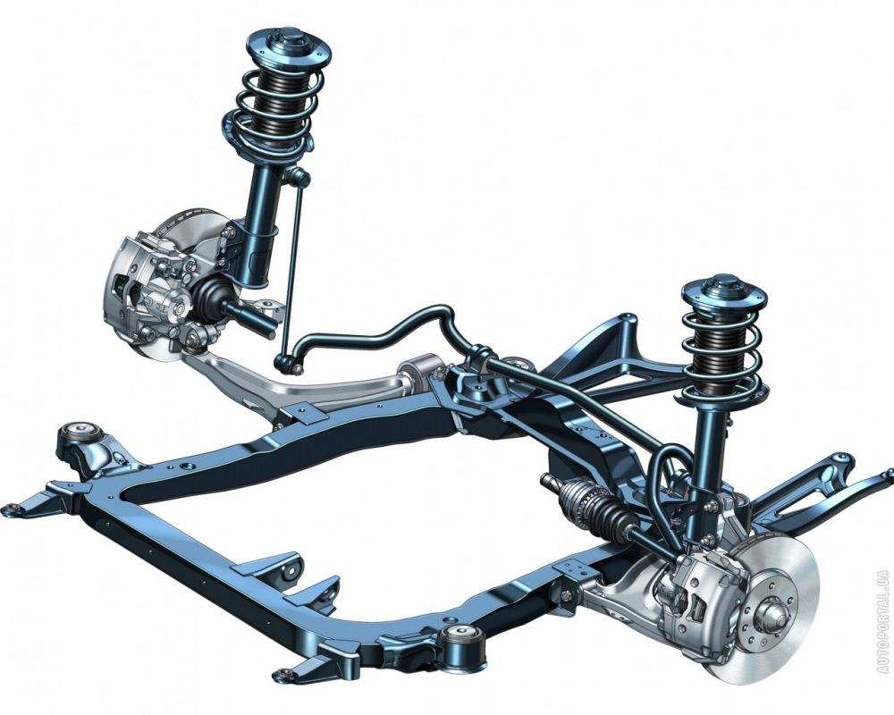 Схема подвески двигателя опель вектра б