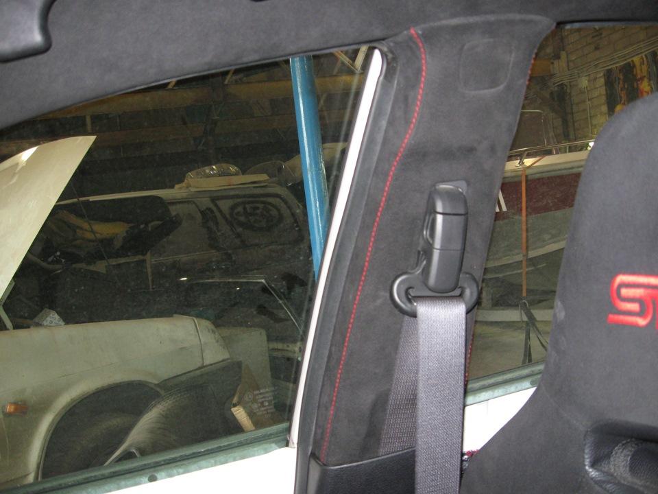 Перетяжка потолка автомобиля своими руками ауди 2