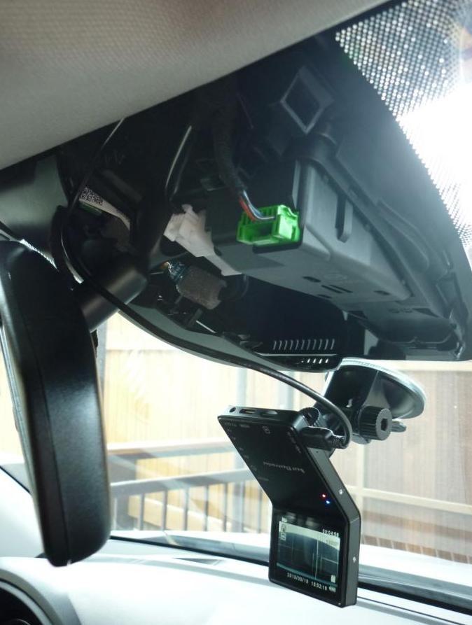 Mazda cx 5 видеорегистратор
