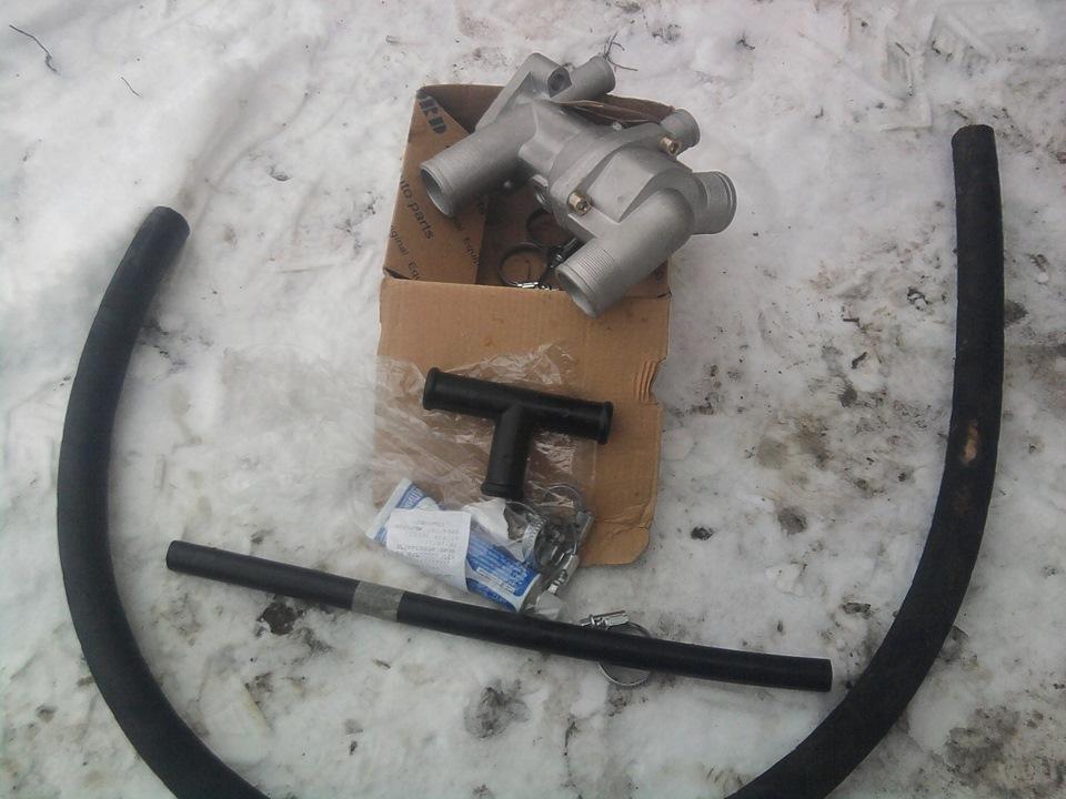 Фото №9 - термостат от ВАЗ 2110 на ВАЗ 2109