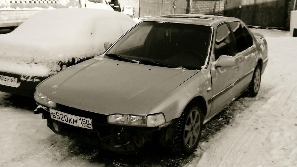 ресурс двигателя honda accord купе iii 2.2