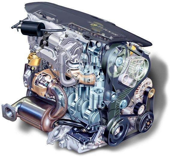 renault scenic дизельный двигатель фото