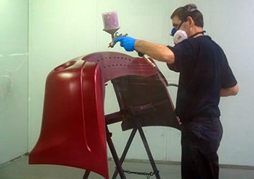 Технология покраска бампера своими руками
