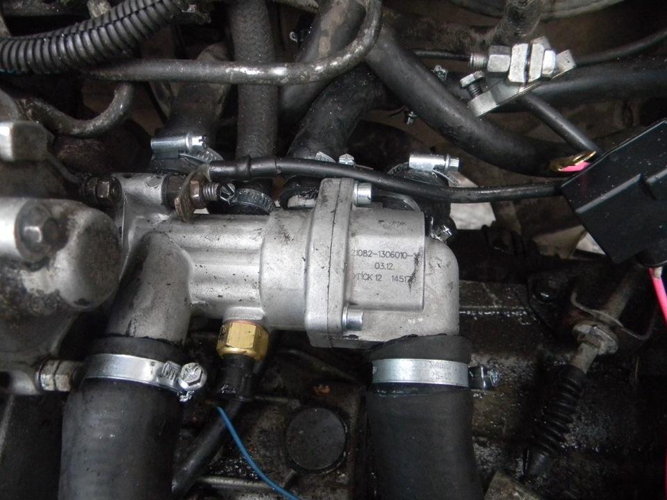 Фото №22 - термостат от ВАЗ 2110 на ВАЗ 2109