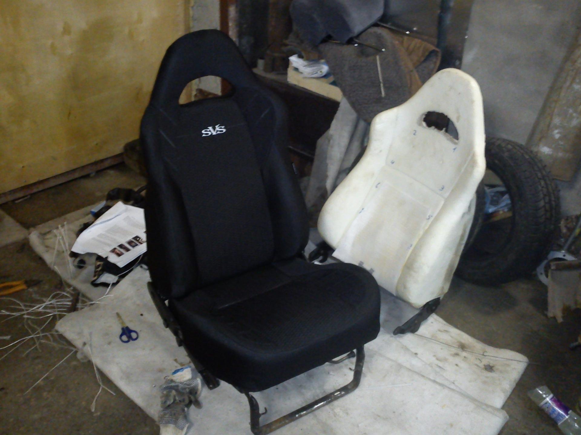 Сиденья для авто своими руками