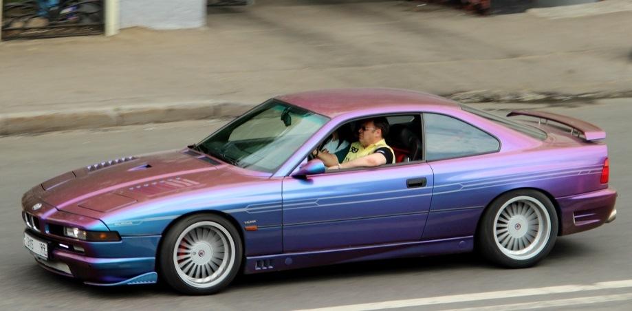 За рулем человек, подозрительно похожий на Mersbrabus'а