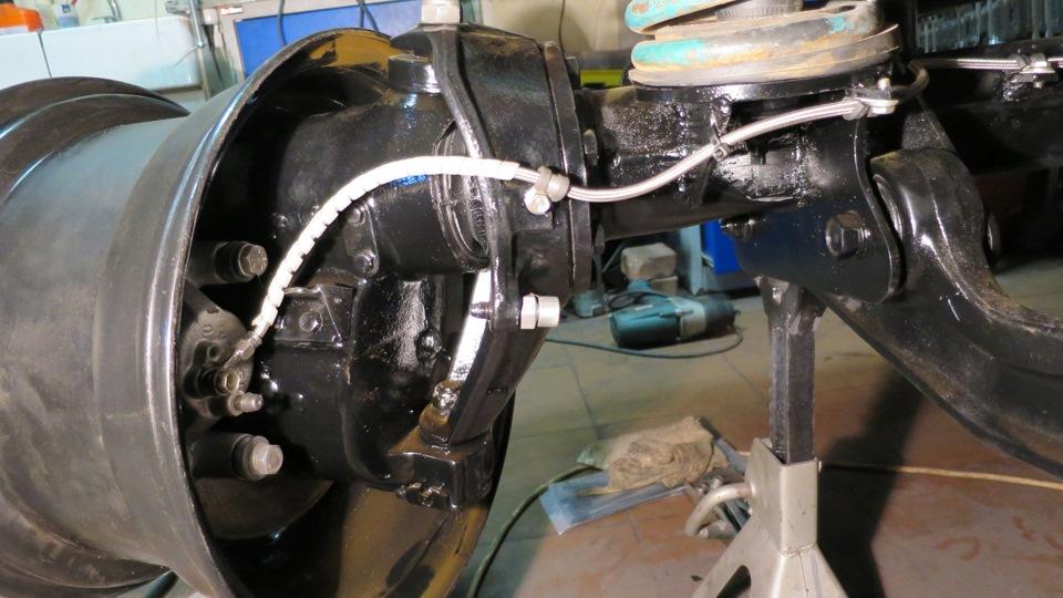 дисковые тормоза на вольво лапландер