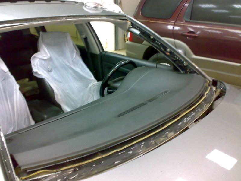 Пассат б5 замена лобового стекла