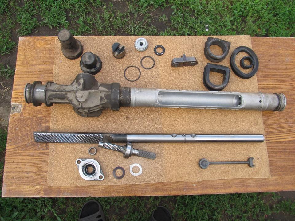 Фото №41 - замена ремкомплекта рулевой рейки ВАЗ 2110
