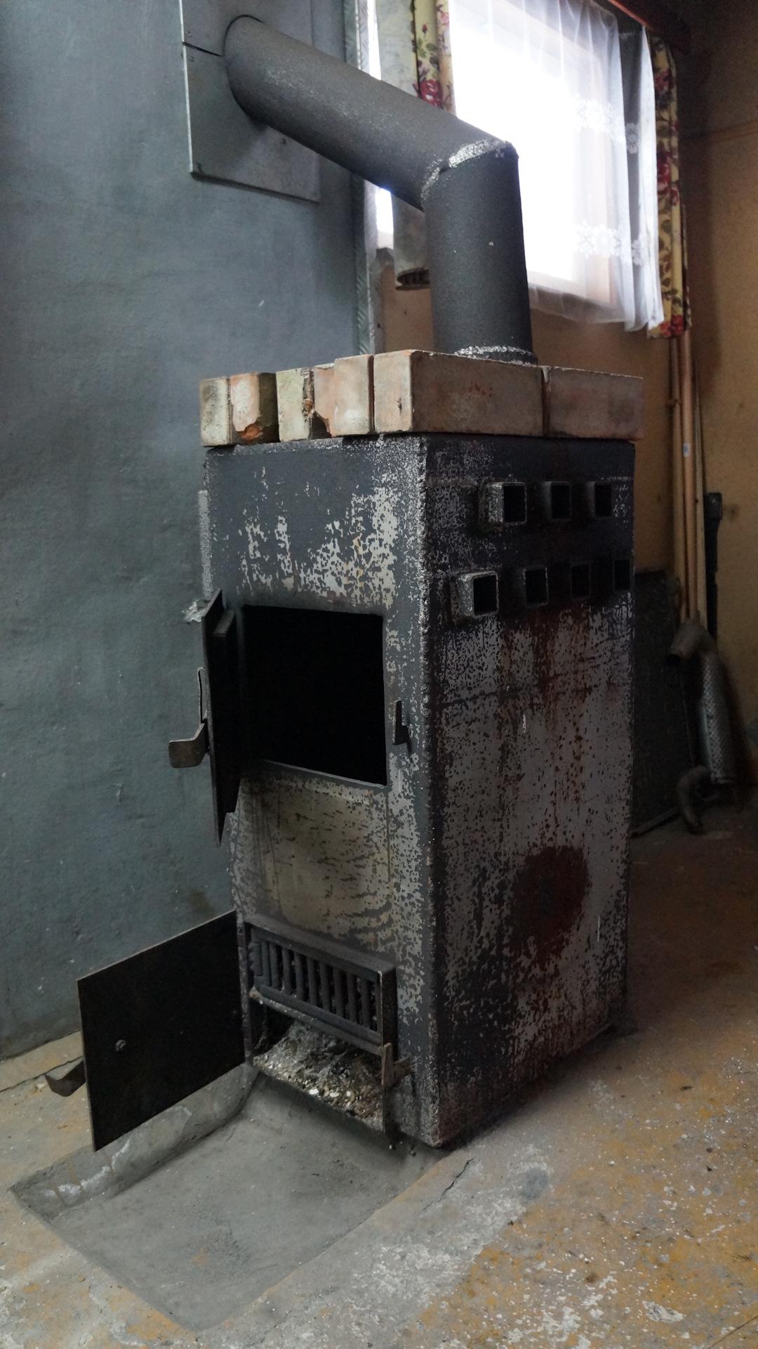 картина первая печь для гаража фотоотчет основана рассказах