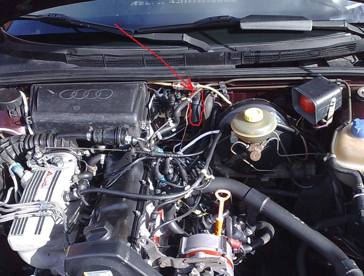 схема системы отопления на ауди 80 б4