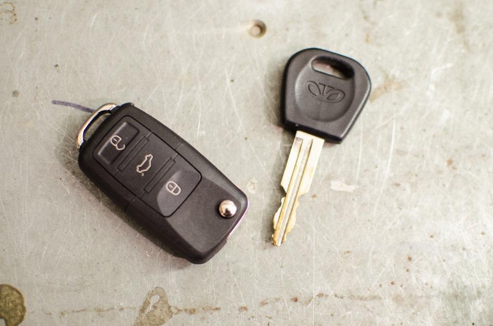 Выкидные ключи своими руками