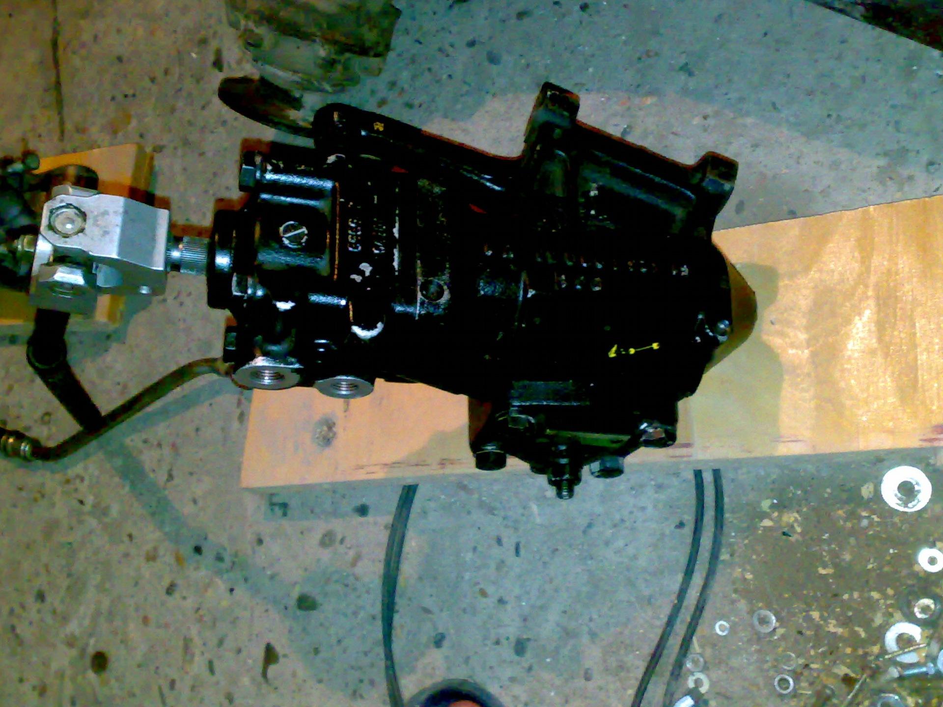 Как сделать переходную плиту двигатель кпп