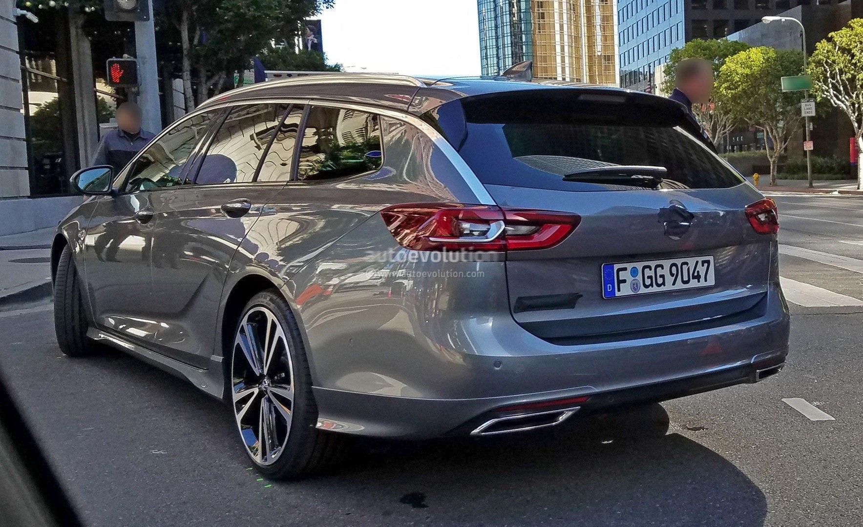 Рассекречена внешность новой Opel Insignia