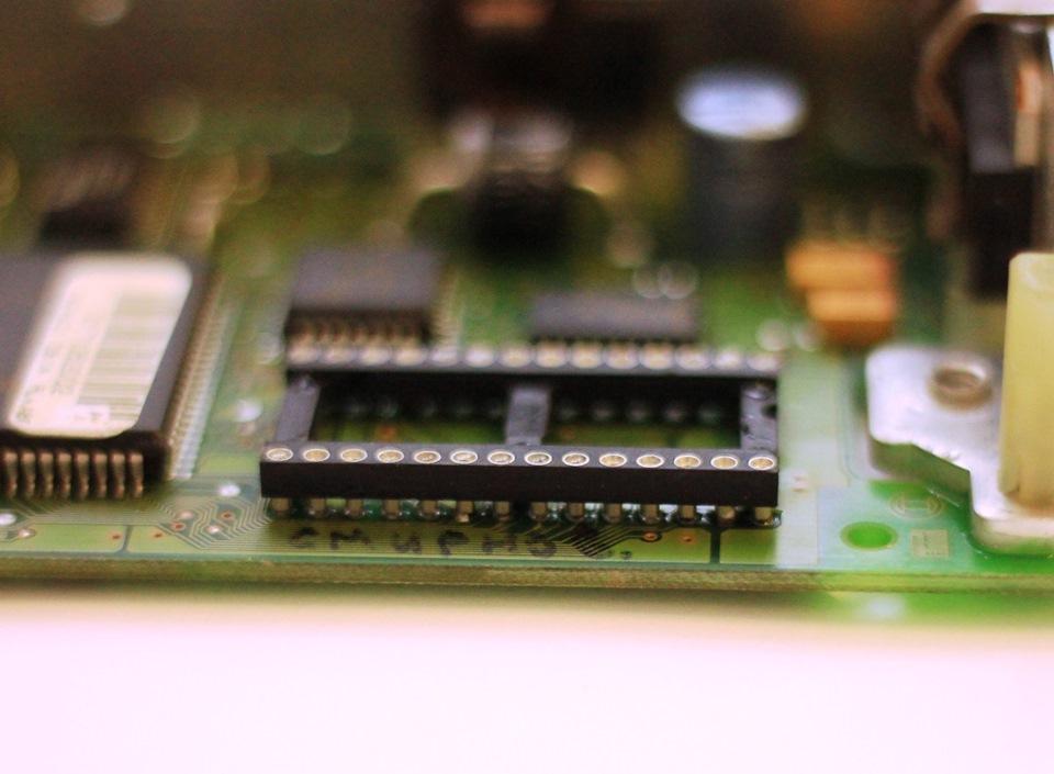 панельки для микросхемы.
