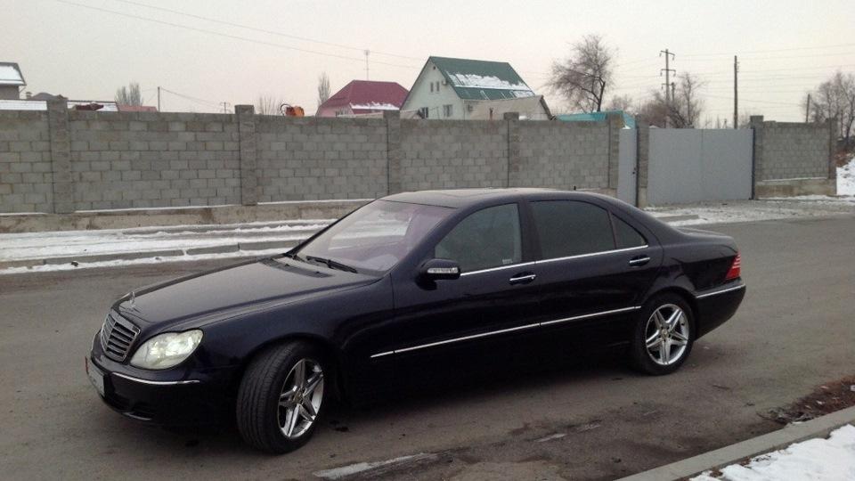 Mercedes benz s class s430 long drive2 for Mercedes benz long