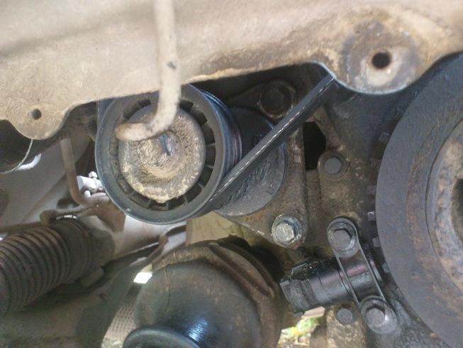 Замена ремня ролика натяжителя форд транзит фото 32-67